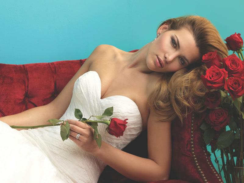 Allure bridals gelinlik modeli
