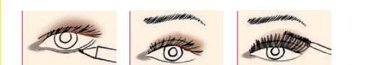 Dumanlı Göz Makyajı Aşamaları