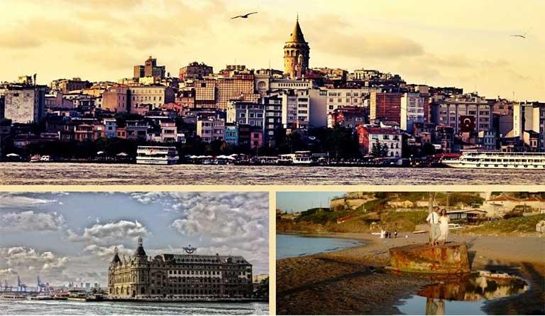 İstanbul'da Düğün Fotoğrafı İçin Mekan Önerileri